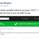 NEST SDP First Session Success