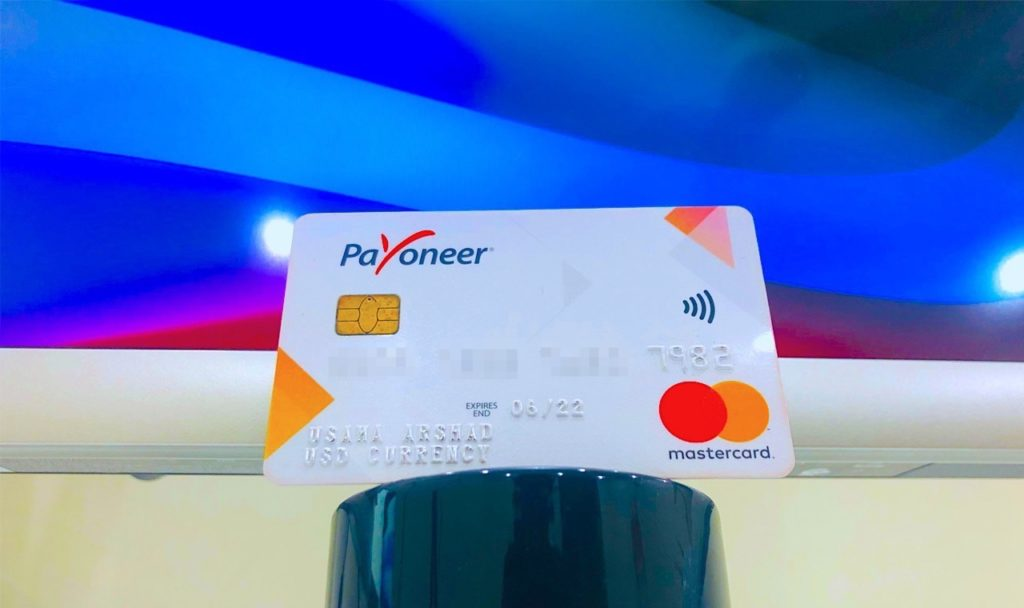 Payoneer International Debit Card